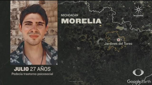 policías municipales de Morelia confunden a joven con enfermedad mental con ladron y lo asesinan en morelia
