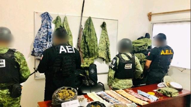 Aseguran-armas-droga-y-dinero-tras-cateos-en-Oaxaca