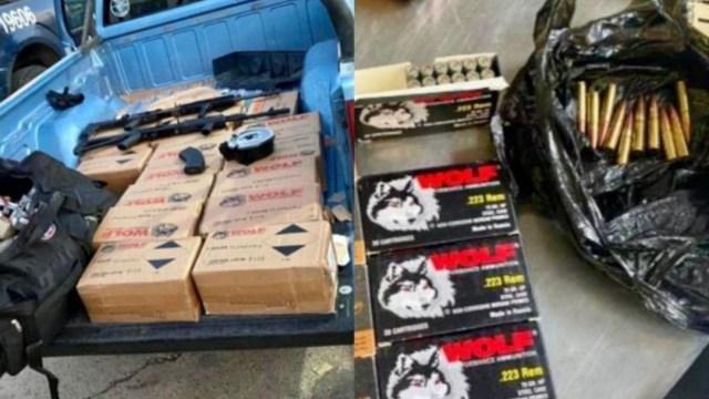 Decomisan 24 mil cartuchos útiles en Aduana de Nogales, Sonora (Administración General de Aduanas)