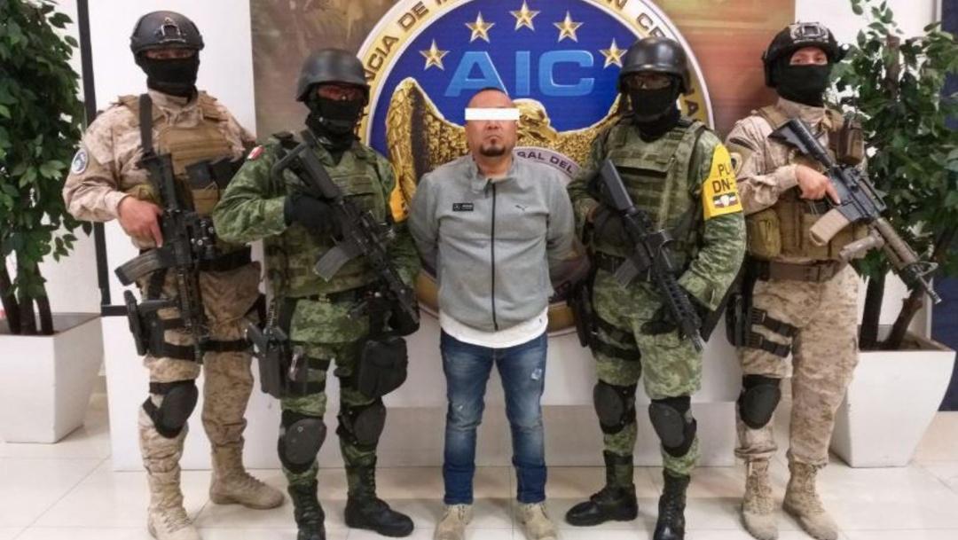 Detienen a 'El Marro' en Guanajuato.
