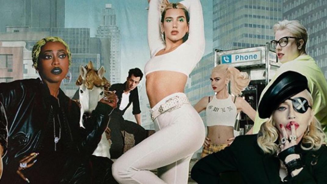 Dua Lipa relanzará disco 'Future Nostalgia' con Madonna