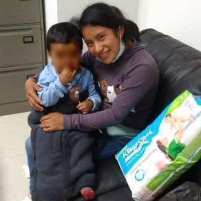Dylan, el pequeño bebé tzotzil, es recuperado con vida; ya se encuentra con su madre