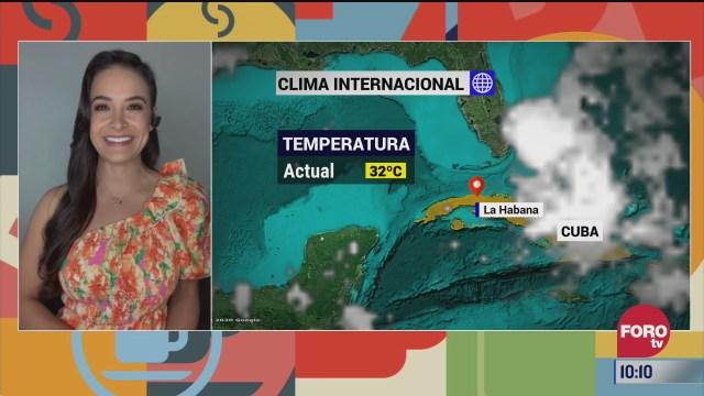 el climaenexpreso internacional del 3 de agosto del