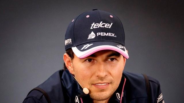 El piloto mexicano 'Checo' Pérez