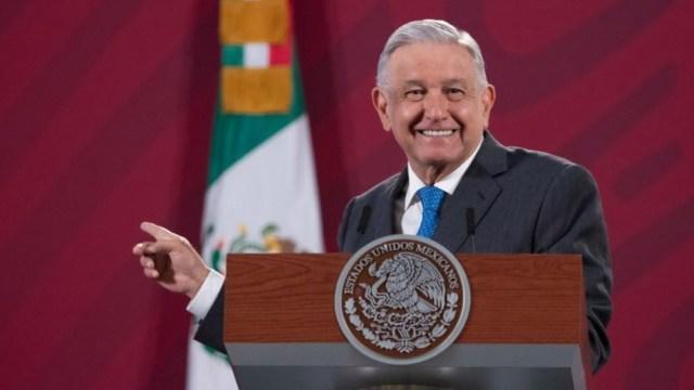 El presidente Andrés Manuel López Obrador en Palacio Nacional