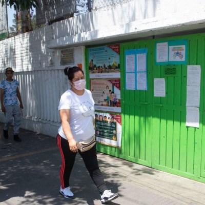 SEP pide paciencia para reapertura de escuelas que será en semáforo verde