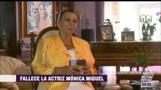 espectaculosenexpreso muere la actriz y directora de escena monica miguel
