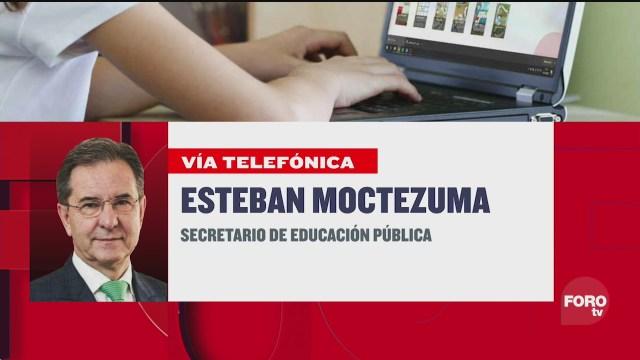 Leo Zuckermann platica con Esteban Moctezuma Barragán titular de la SEP sobre el programa Aprende en Casa y el regreso a clases en tiempos de pandemia covid 19