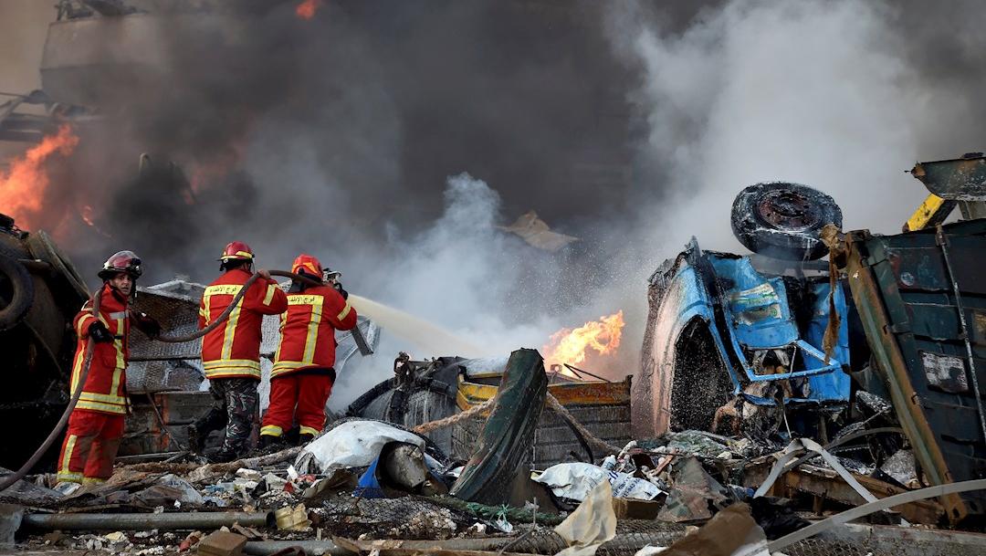 Unión Europea ayuda a Beirut tras explosión que dejó más de 100 muertos