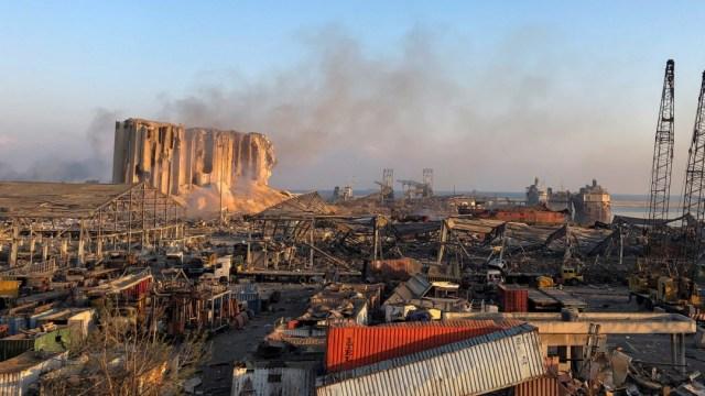 Este es el tamaño de la explosión en Beirut comparado con CDMX