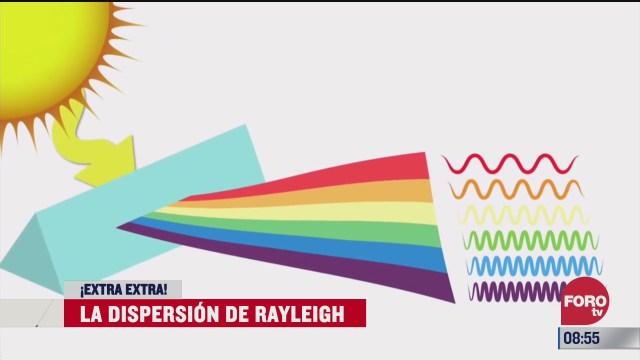 extra extra la dispersion de rayleigh