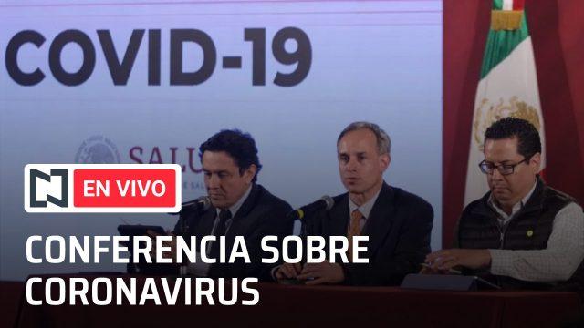 Conferencia en vivo de hoy por el coronavirus en México