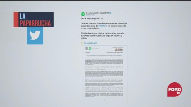 Fraude tramitar licencia permanente fuera de Semovi