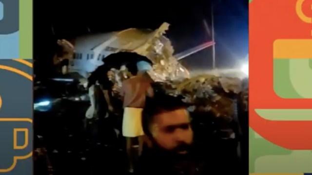 Las autoridades de la India reportan varios muertos y heridos por accidente de avión