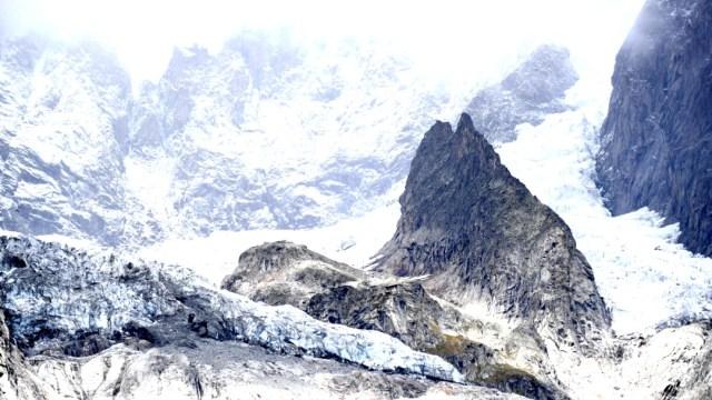 Evacúan zona de los alpes italianos por riesgo de desprendimiento del glaciar Planpincieux