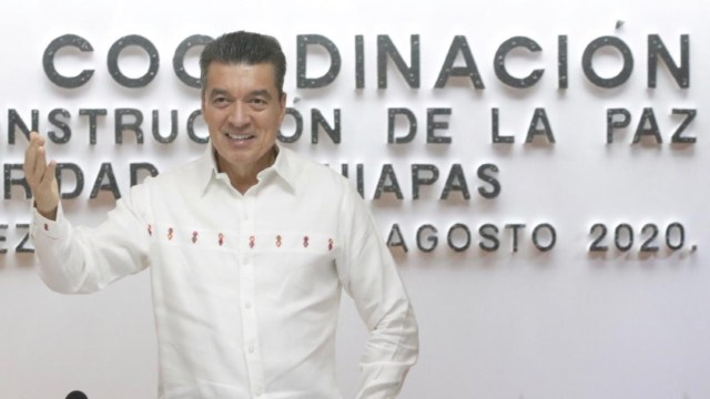 El gobernador de Chiapas destacó el trabajo comprometido de las autoridades federales, estatales y municipales