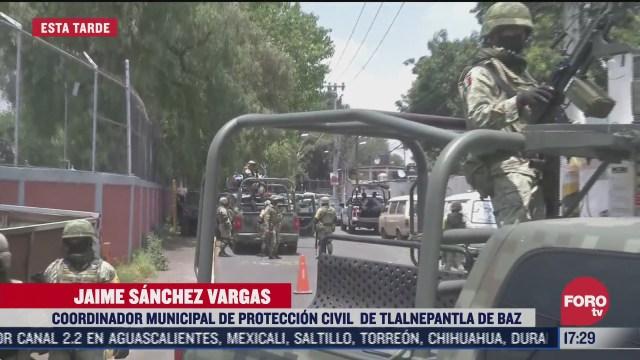 guardia nacional resguarda toma clandestina en tlalnepantla