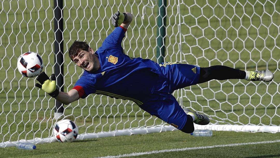Iker Casillas, portero español
