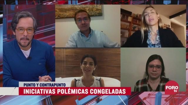 Iniciativas polémicas congeladas en el congreso CDMX, el análisis en Punto y Contrapunto