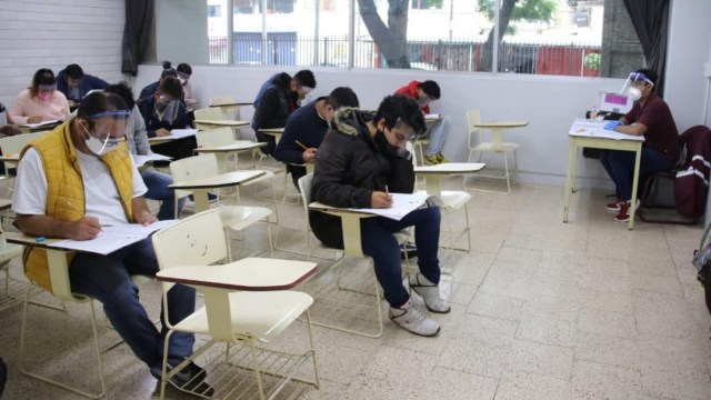IPN inicia jornada de examen de admisión a nivel medio y superior