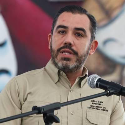 Jesús Orta Martínez se desempeño como secretario de Seguridad Ciudadana por 10 meses hasta su renuncia en octubre de 2019