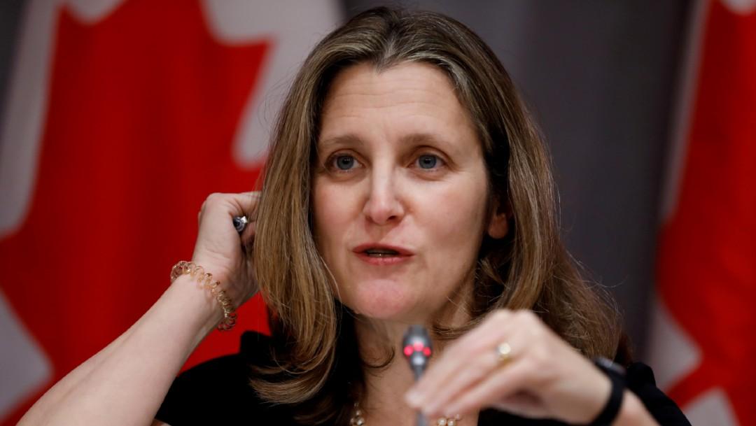 Chrystia Freeland, nueva ministra de Finanzas de Canadá