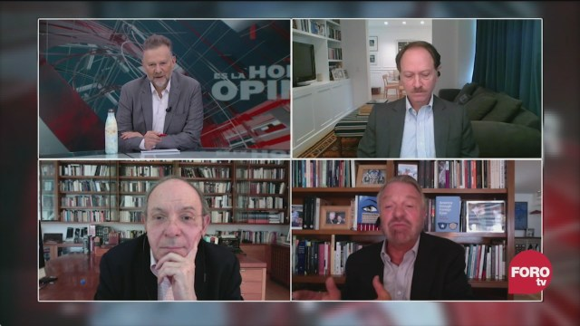 Leo Zuckermann, Héctor Aguilar Camín, Jorge Castañeda y Javier Tello evalúan el gobierno de AMLo en su segundo año
