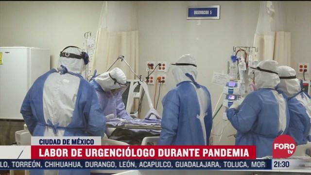 la importancia de los urgenciologos durante la pandemia