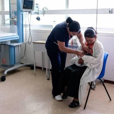 Representantes de la Secretaría de Salud y la Unicef destacaron que la leche materna protege contra enfermedades respiratorias, como el coronavirus SARS-CoV-2