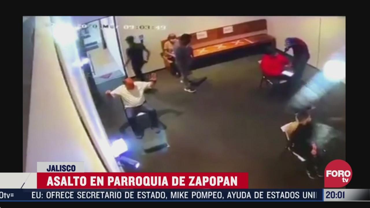 ladrones entran a iglesia y roban a feligreses