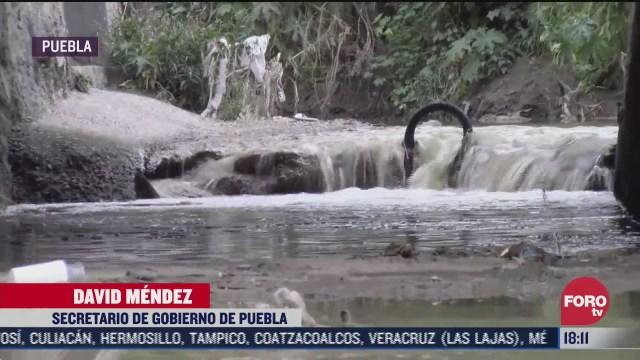 lluvias dejan 89 casas danadas en puebla