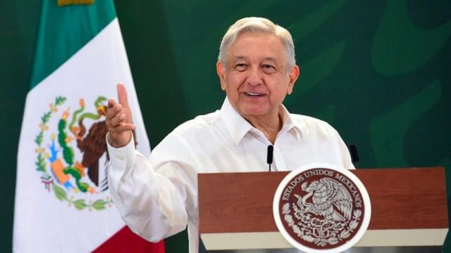 López Obrador en Apodaca, Nuevo León