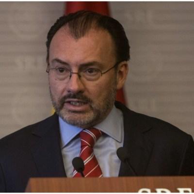 Las imputaciones que me hace Emilio Lozoya son falsas: Luis Videgaray