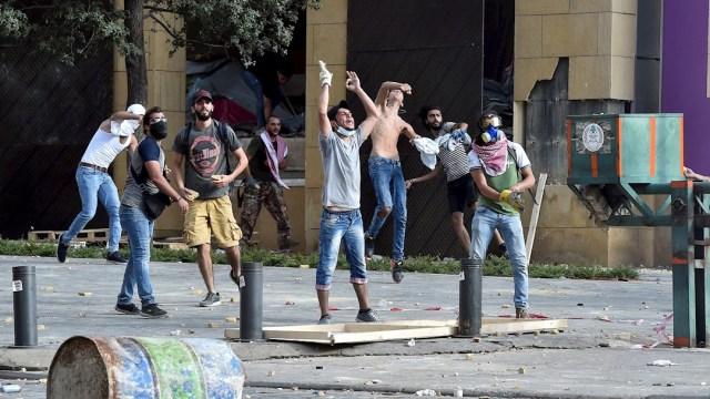 La indignación ha aumentado en los últimos días en Líbano tras la explosión en el puerto de Beirut
