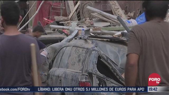 mexico aporta 100 mil dolares a libano por explosion en beirut