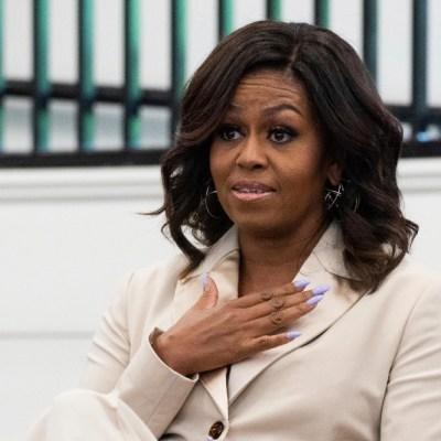 Michelle Obama con 'leve depresión' por pandemia e 'hipocresía' de Trump