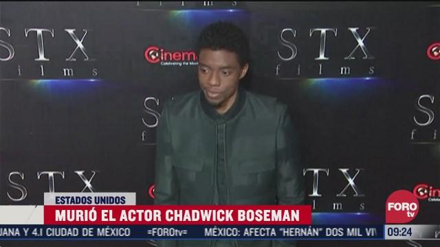muere chadwick boseman protagonista de la cinta black panther