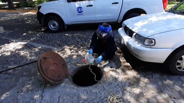 Obtención de pruebas unam sobre presencia de covid 19 en aguas residuales