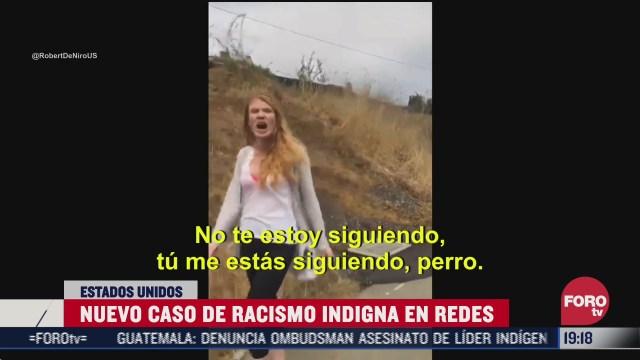 mujer llama perro mexicano a hombre en eeeuu