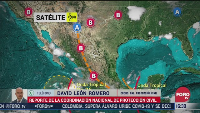onda tropical 26 ocasiona lluvias en todo el pais proteccion civil