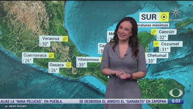 onda tropical 26 y zona de baja presion provocara lluvias en mexico