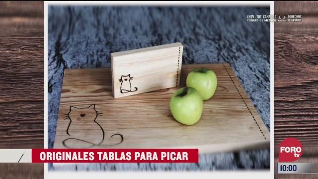originales tablas para picar