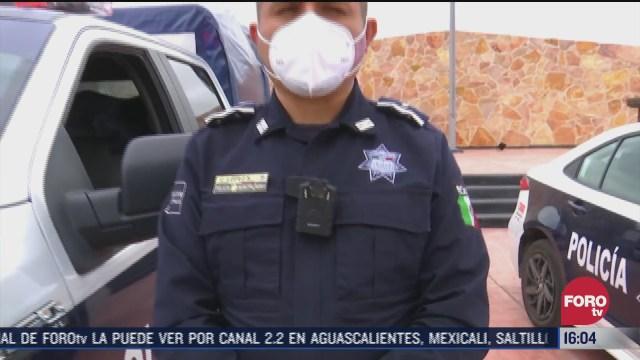 policias de pachuca portaran videocamaras para evitar abusos
