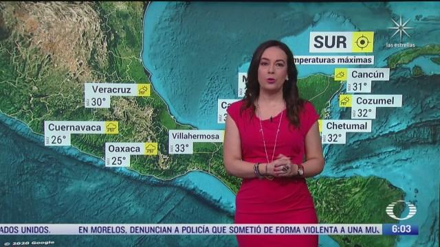 preven lluvias torrenciales en jalisco colima y michoacan