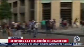 protestan en bielorrusia por reeleccion de lukashenko