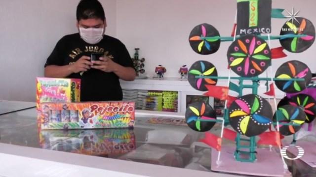 Reabren Mercado de pirotecnia 'San Pablito' en Tultepec, Edomex
