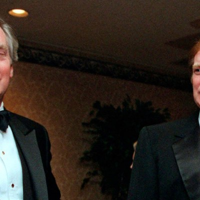 Robert y Donald Trump en 1999