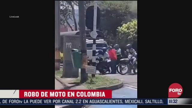 robo en moto en medellin colombia