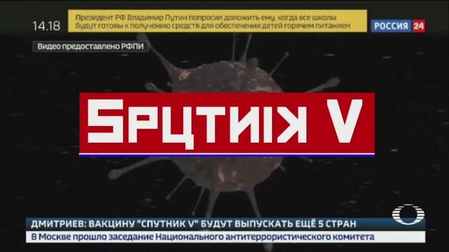 Rusia presenta 'Sputnik V', primera vacuna contra COVID-19