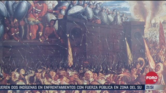 se cumplen 499 anos de la caida de tenochtitlan